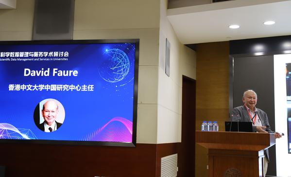 香港中文大学中国研究中心主任 科大卫